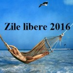 Zile libere 2016